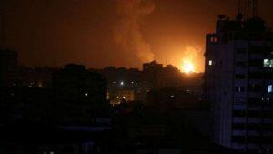 Израиль начал наносить удары по Сектору Газа