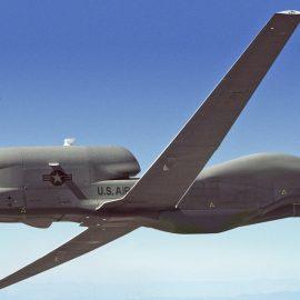 БПЛА-шпион американских ВВС зафиксирован вблизи Крыма