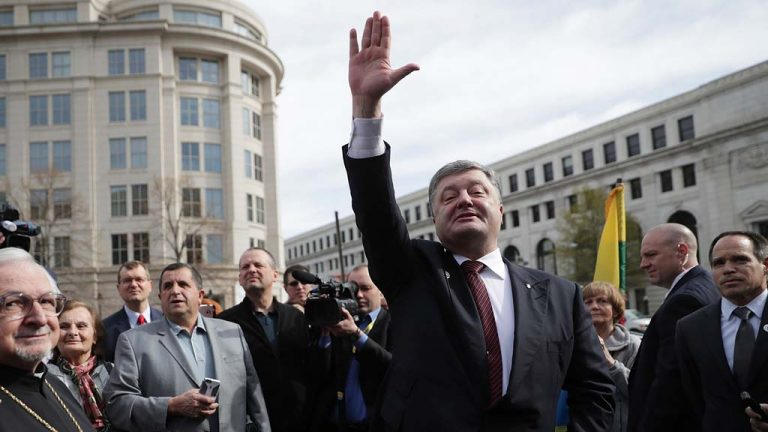 Президент Украины Порошенко