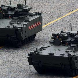 Боевая машина пехоты «Курганец-25» протестирована в Сирии