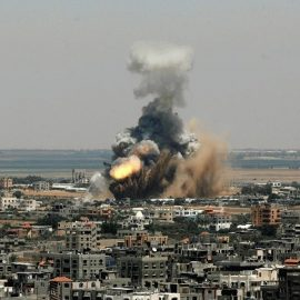 Raketenangriff auf Syrien