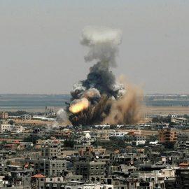 Une frappe aérienne sur la Syrie