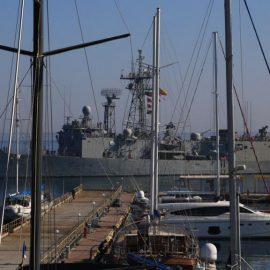 В порт Одессы прибыли фрегаты НАТО