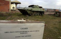 радиация, обедненный уран, бомбардировки НАТО 1999 год Югославии, Сербия и Черногория