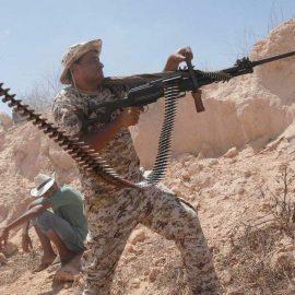 Армия Хафтара захватила военную базу в 40 км от Триполи