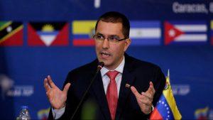 глава МИД Венесуэлы Хорхе Арреаза