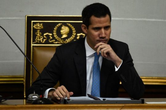 оппозиционер Хуан Гуайдо