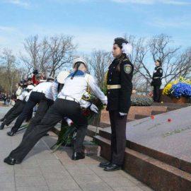Одесса отмечает 75-ю годовщину освобождения города от фашистов