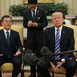 Трамп и Мун ищут, как возобновить диалог с КНДР