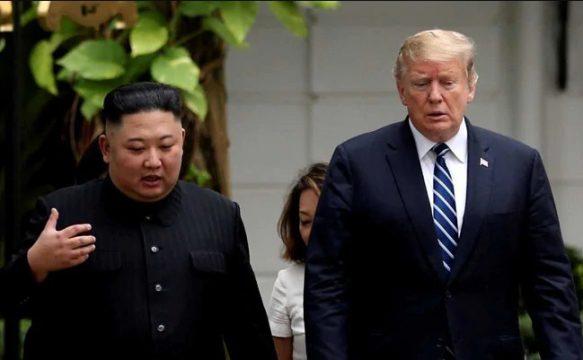 саммит США-КНДР Ким и Трамп