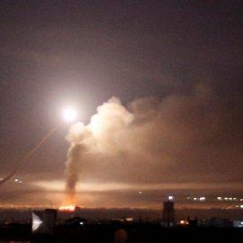 Самолёты ВВС Израиля нанесли удар в сирийской провинции Хама