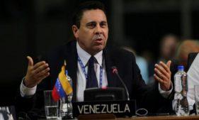 постпред Венесуэлы при ООН Самуэль Монкада