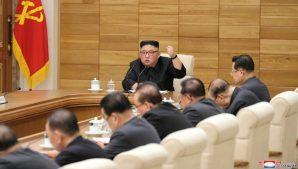 Ким Чен Ын провел совещание