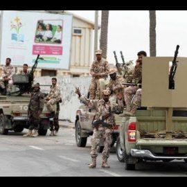 Gegenoffensive gegen die Armee von Haftar