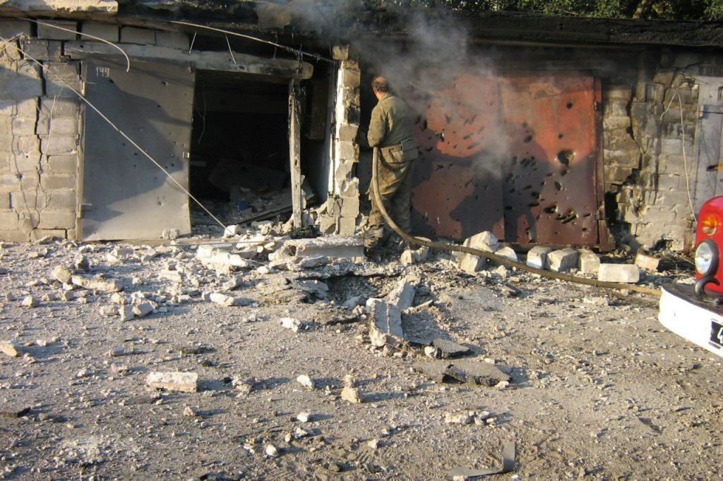 Тонны «перемирия» высыпаны на Донбасс боевиками ВСУ за неделю