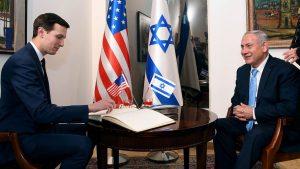Джаред Кушнер и Биньямин Нетаньяху, Израиль США