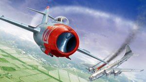Победа МИГов над бомбардировщиками США