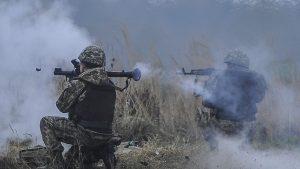 Донбасс. Оперативная лента военных событий 17.04.2019