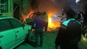 По Триполи были нанесены ракетные удары
