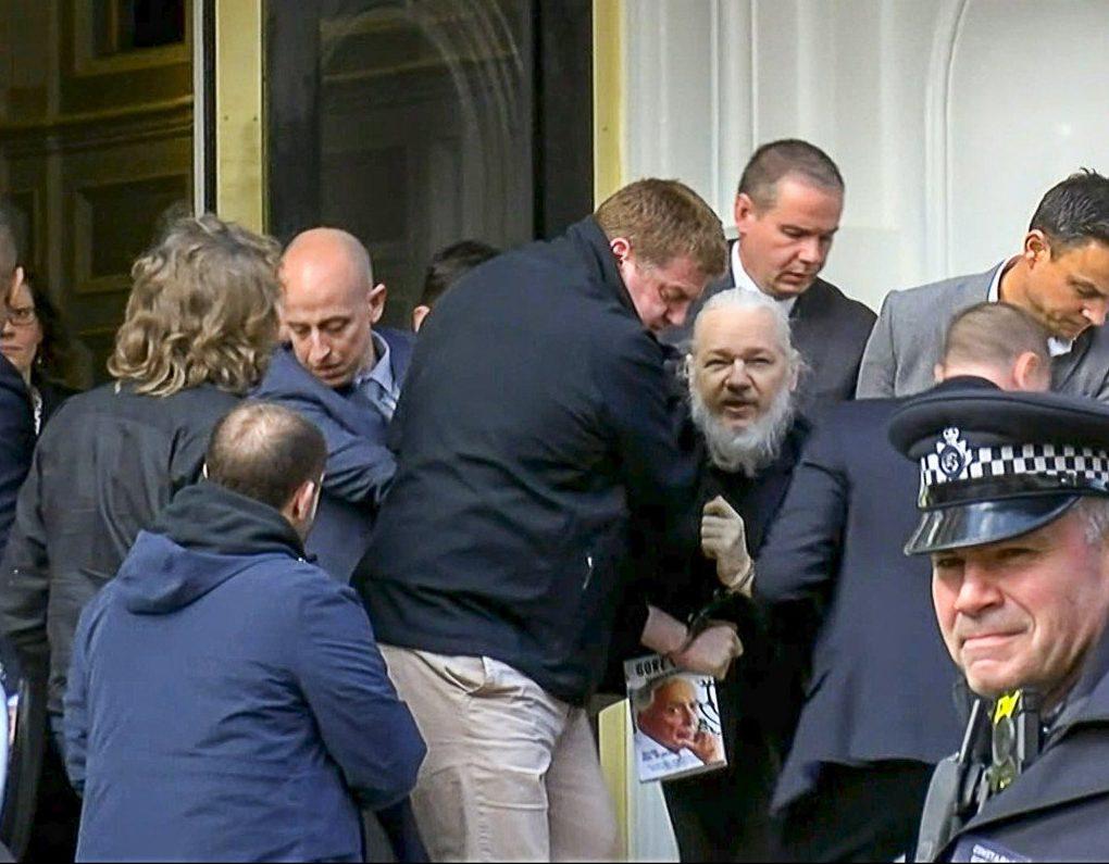 арест Джулиана Ассанжа
