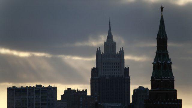 МИД России и Кремль. Москва