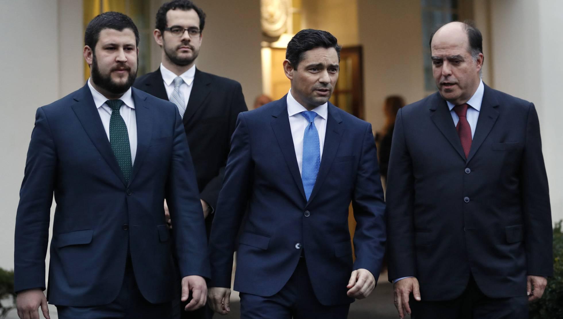 Оппозиционеры Венесуэлы с визитом в Вашингтоне