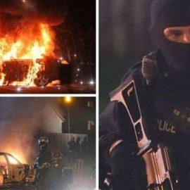 В Северной Ирландии во время бунта «республиканцев-диссидентов» застрелен человек