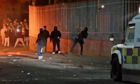 бунт и беспорядки в Северной Ирландии, Лондондерри, Крегган