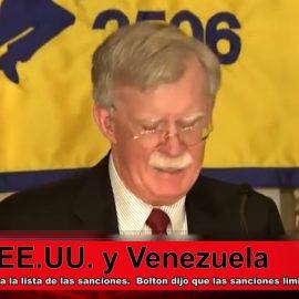 Las sanciones americanas nuevas contra Venezuela