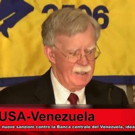 Nuove sanzioni statunitensi contro il Venezuela