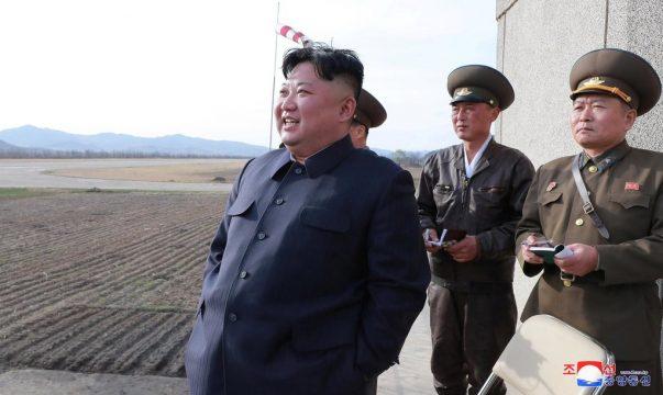 КНДР произвела пуск нового тактического управляемого оружия, Ким Чен Ын