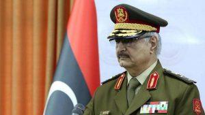 Трамп провел переговоры с командующим ливийской национальной армией Хафтаром