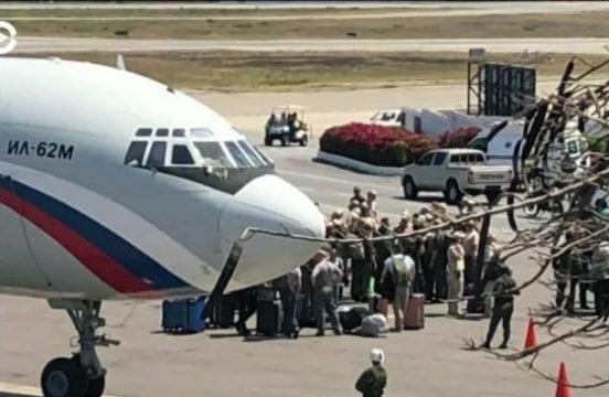 прилет самолетов Ан-124 и Ил-62 в Венесуэлу