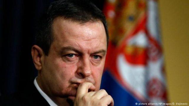глава МИД Сербии Ивица Дачич