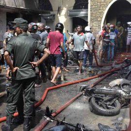 В связи со взрывами на Шри-Ланке задержаны семь человек