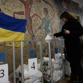 Явка на выборах президента Украины составила 47,87%