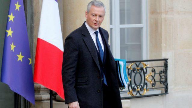 министр финансов Франции Бруно Ле Мэр