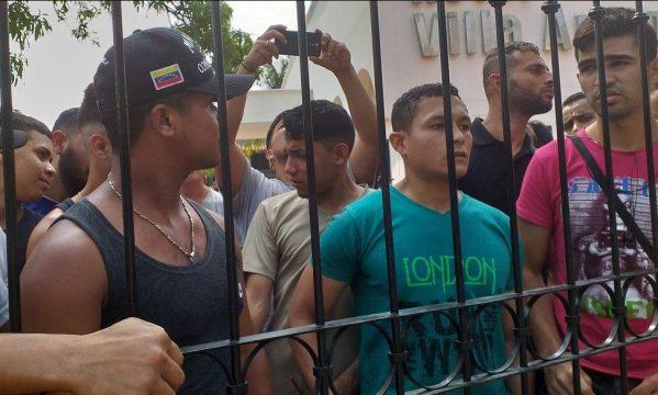 венесуэльские дезертиры в приюте в Колумбии