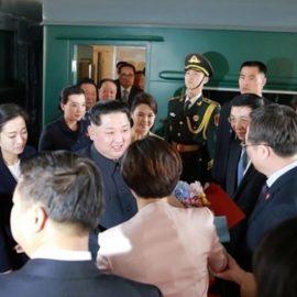 Ким Чен Ын прибыл в РФ на бронепоезде для переговоров с Путиным
