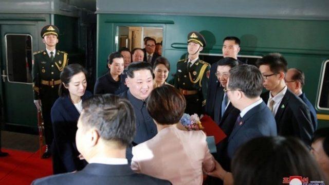 Ким Чен Ын прибыл во Владивсток