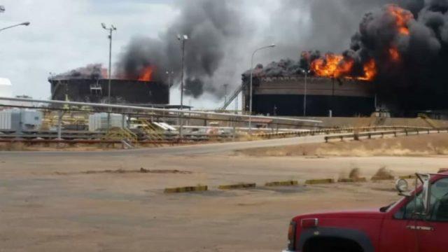 саботаж на электроподстанциях в Венесуэле
