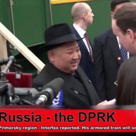 Kim Jong-un arrived in Russia