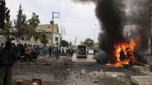 В результате взрыва в сирийском городе Ракка погибли 10 бойцов СДС