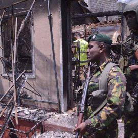 После перестрелки на Шри-Ланке нашли тела девяти взрослых и шести детей