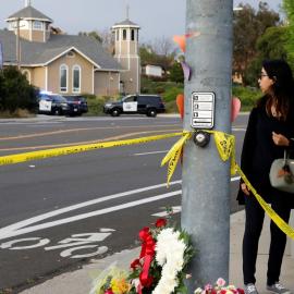 В синагоге Калифорнии произошла стрельба