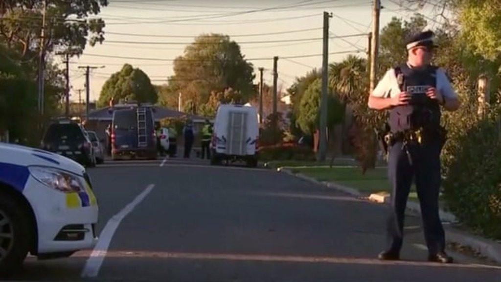 крайстчерч кордон полиции, теракт