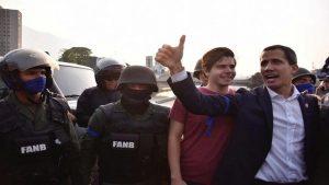 Гуайдо заявил о вооруженном восстании в Венесуэле