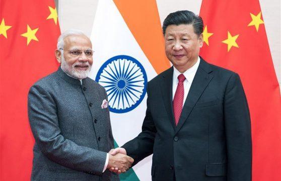 главы Индии и Китая, Си Цзиньпин и Нарендра Моди