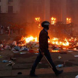 Трагедия Дома профсоюзов (фото +18)