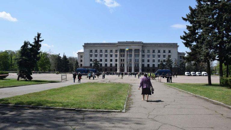 5-я годовщина трагедии 2 мая в Одессе